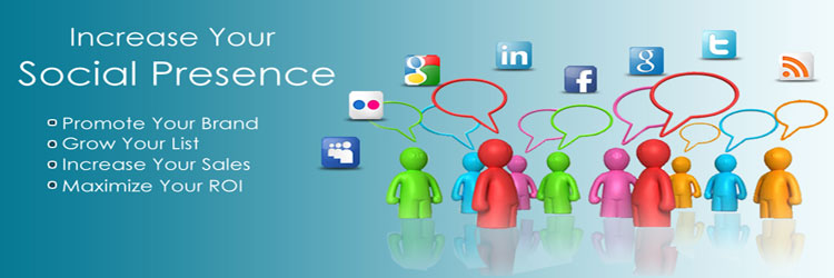 Increase your social Presence through our Social Media Marketing Services