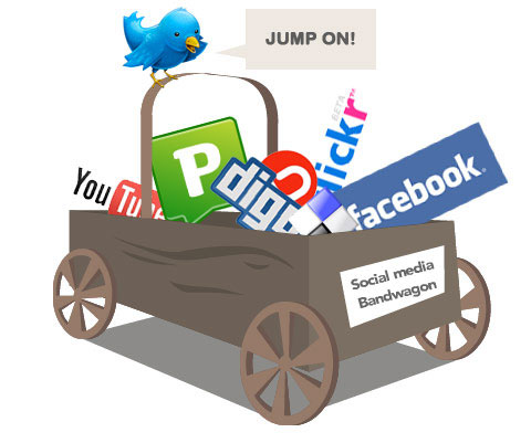Social Media Marketing Bandwagon Strategy for small businesses
